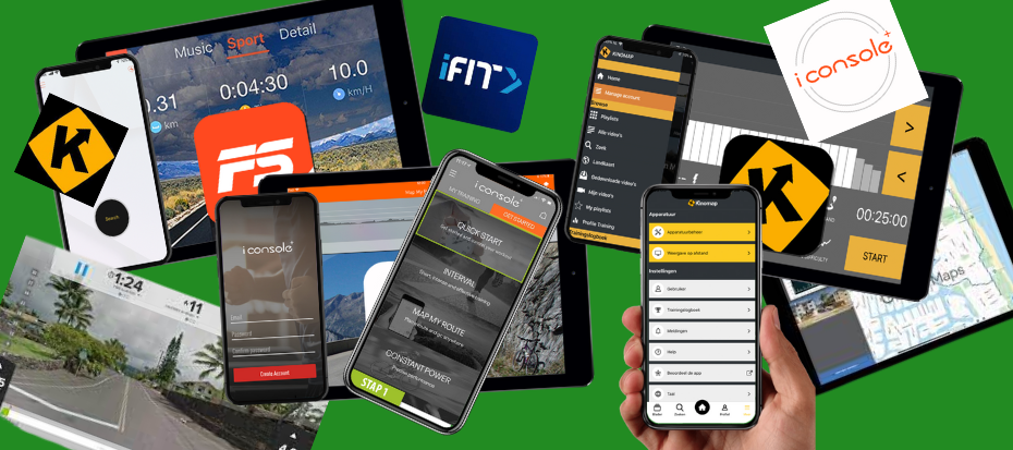 Crosstrainer apps