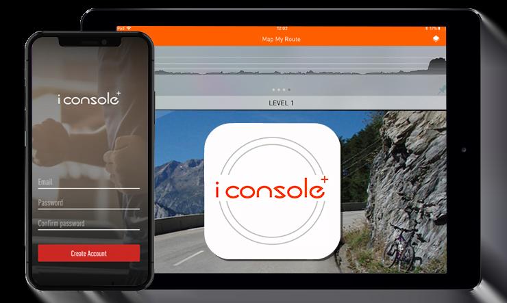 crosstrainer app - iConsole+